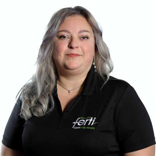 Amélie Vachon Conseillère au service à la clientèle de l'équipe Groupe Ferti