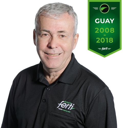 Gaston Guay Conseiller technique senior de l'équipe Groupe Ferti