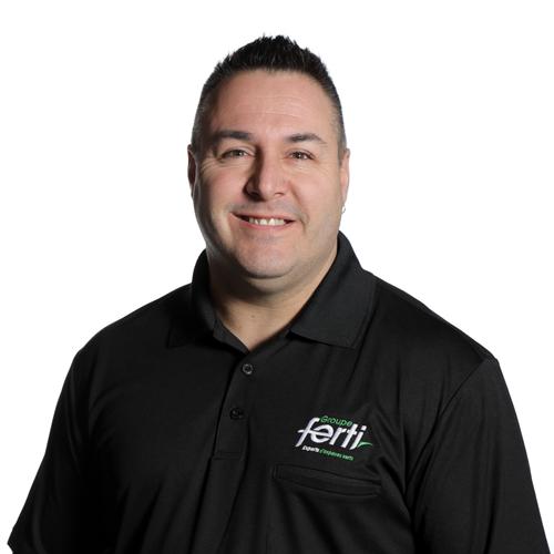 Martin Lebrun Coordonnateur en chef des opérations et Conseiller technique de l'équipe Groupe Ferti