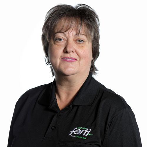 Sylvie Haché Chef d'équipe Conseillère au service à la clientèle volet opérationnel de l'équipe Groupe Ferti