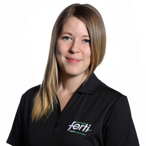 Valérie Gagnon Conseillère au service à la clientèle de l'équipe Groupe Ferti