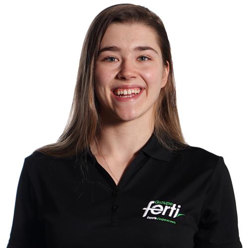 Véronique Breton Technicienne en horticulture de l'équipe Groupe Ferti